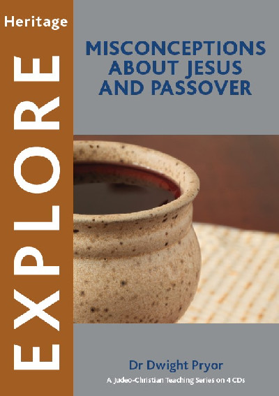 Misconceptions about Jesus and the Passover (CD)