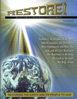 Restore! Tikkun Olam (Restoring the Earth) Issue [While Stocks Last]