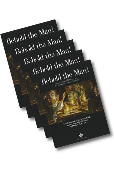 Behold the Man Study Textbook (5 or more)