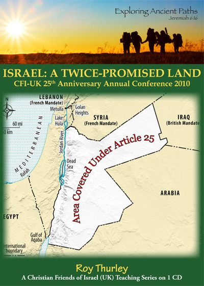 Israel: A Twice-Promised Land (CD)