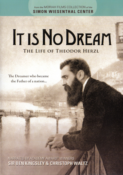 It Is No Dream: The Life of Theodor Herzl (DVD)