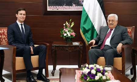 Jared Kushner meeting Mahmoud Abbas