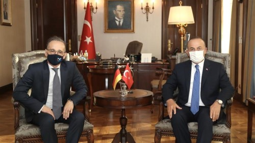 German and Turkish Foreign Ministers met