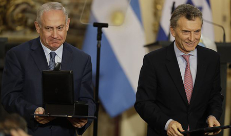 Israeli Prime Minister and Argentinian President